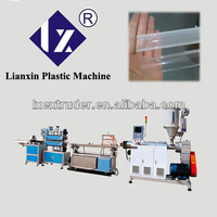 PC/LED lamp chimney extrusion production line