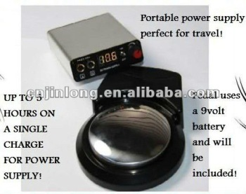 Wireless Tattoo Power Supply Foot Pedal Charger