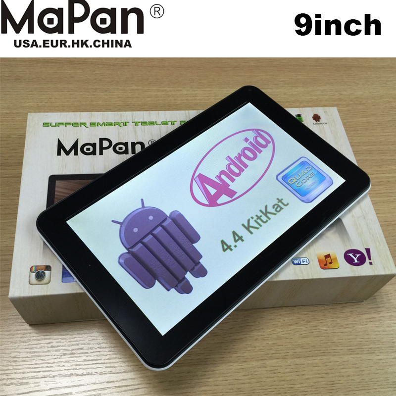 MaPan Newest 9Inch ATM7029C Android 4.4 Tablet 9inch Cheap Android Tablet PC 9inch Octa Core Quad Core Support wifi BT