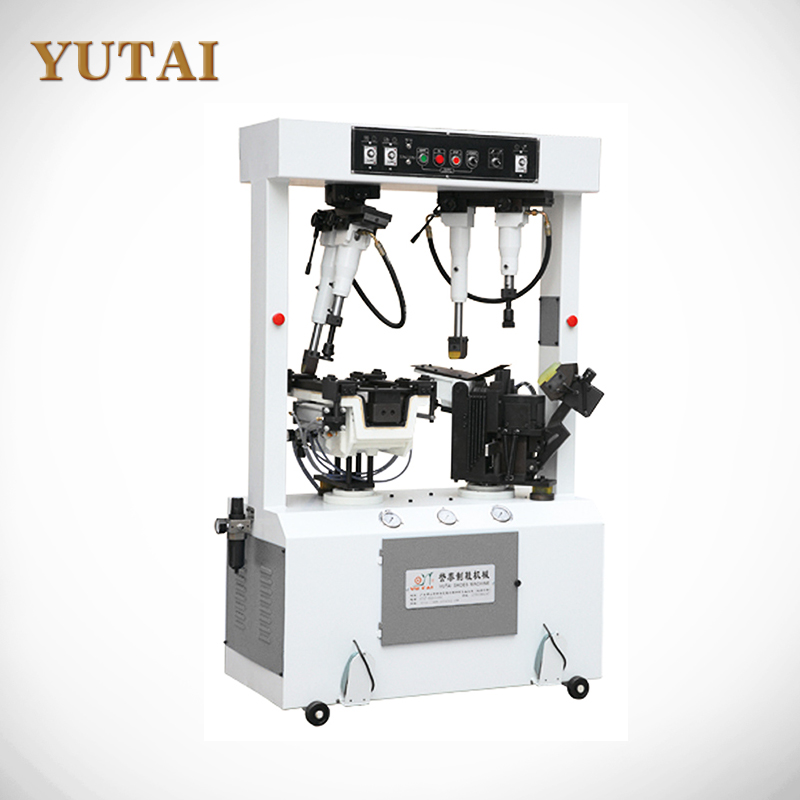YT-608 Good Price&High Quality Multi-purpose Hydraulic PVC/PU/Leather Material Shoes Sole Attaching Machine