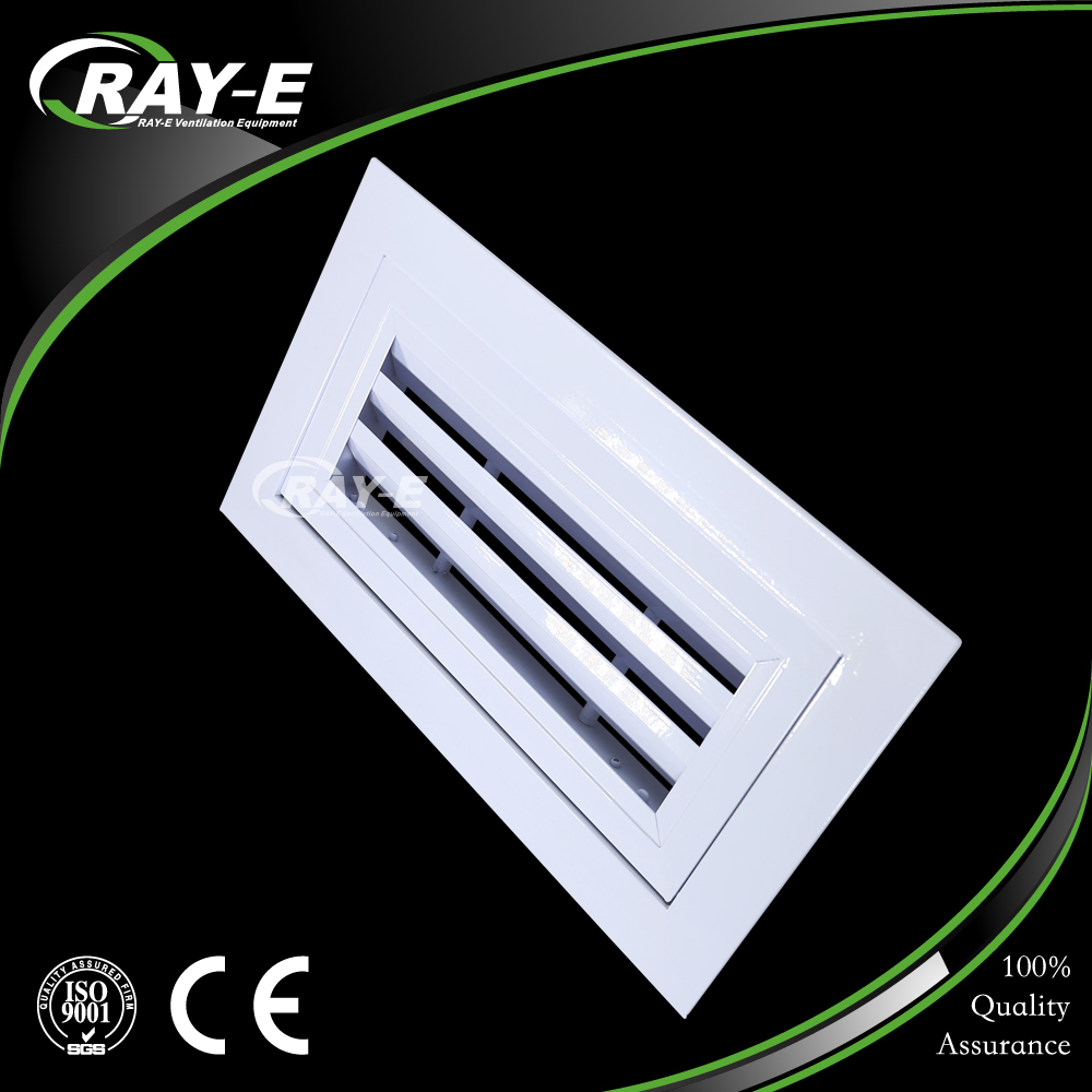 HVAC aluminum duct ceiling door grille waterproof vent hinged return air louver