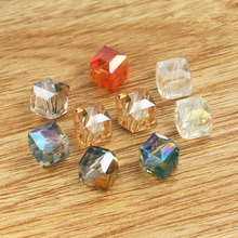 High Grade Machine Cut 3D Jewelly Making Crystal Beads, Natural Glass Rondelle Beads