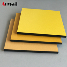 Amywell shenzhen factory mould proof mix color leather surface hpl laminate