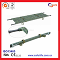 High Load Bearing High quality Camouflage Easy To Carry Medical Military Foldaway Emergency First Aid Stretcher