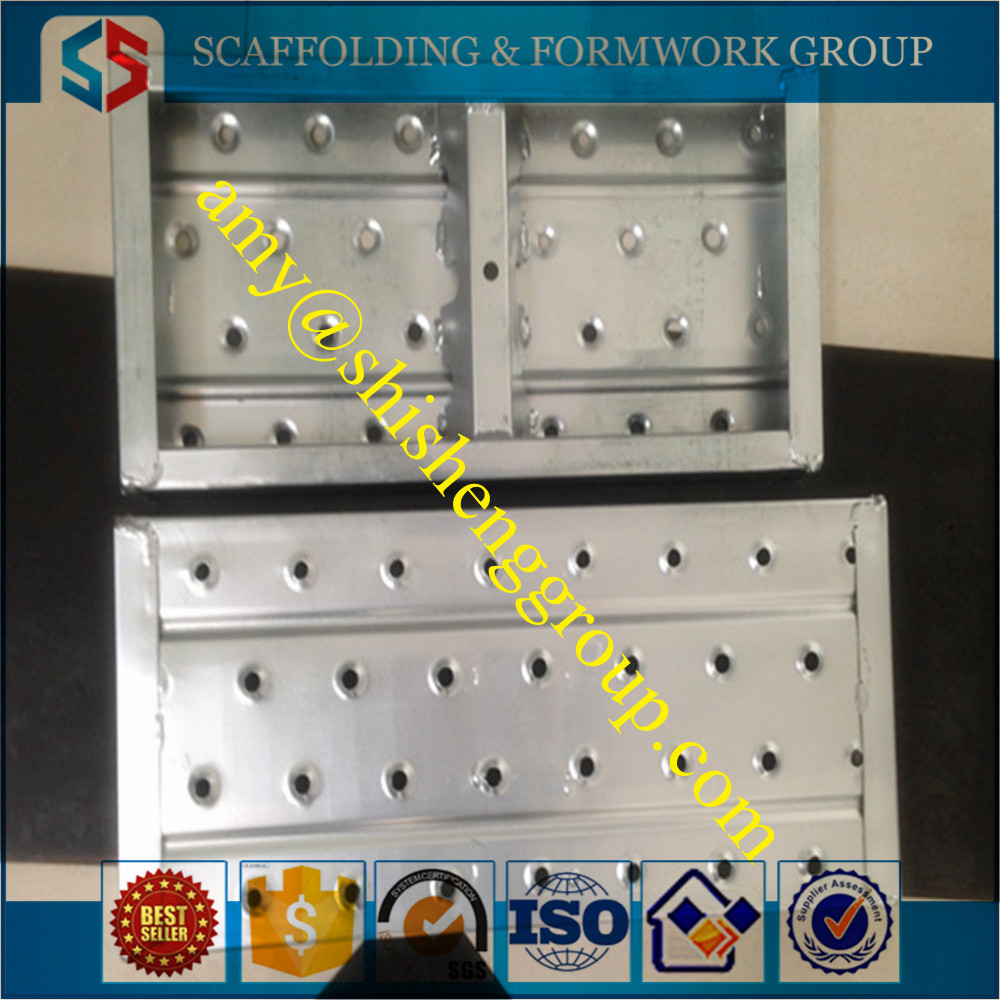 Skidproof Punched Galvanized Plank Scaffolding Parts For Sale