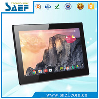 HD touch screen wall mounted 13.3 inch led display android tablet