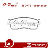 High Quality Brake Pads for Nissan Sunny Cherry Auto Parts 41060-01A25 D1018 GDB288 20958 DF-NI-1018 China Supplier