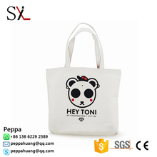 High Quality Cotton Shopping Candy Tote Bag With Zipper