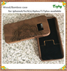 Good Quality Wood Bamboo for engraving for iPhone 6 case for iPhone 7 cover