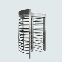 Wholesaler price security full Arc rack type height turnstyle gates
