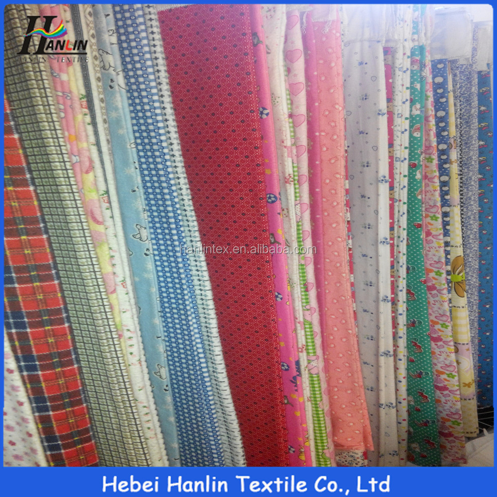 wholesale brushed woven blouse fabric manufacturer China,Dubai fashion garment floral cotton flannel fabric