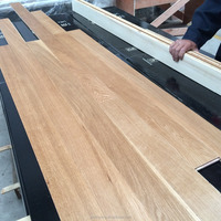 Natural Oiled engineered wood (Russian White Oak) flooring