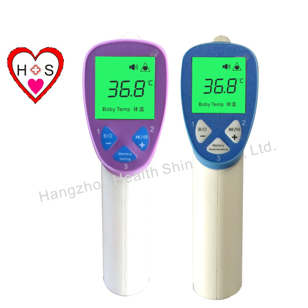 New Digital LCD Baby Non Contact Infrared Body Thermometer fever Alarm
