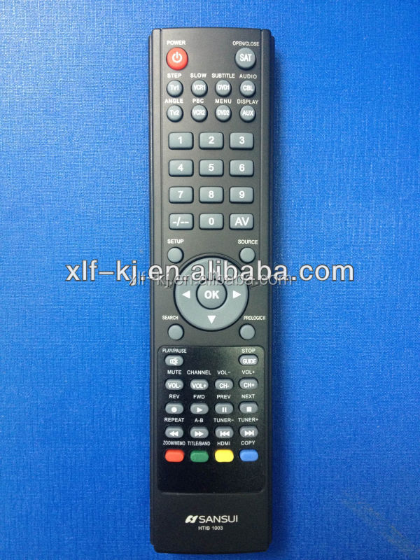 Promation goldstar universal tv remote control with learning function