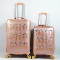 Trolley Cases PU Luggage Bags For