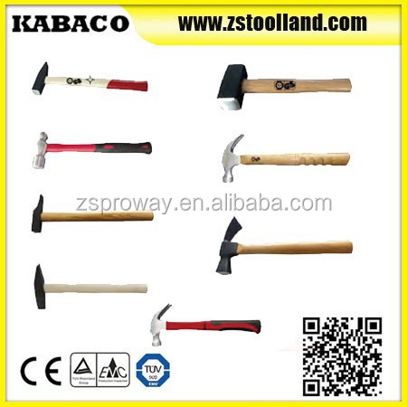 Good quality German Type Safety Hammer Forging Machinist Hammer