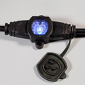 UL cable with waterproof lighted socket