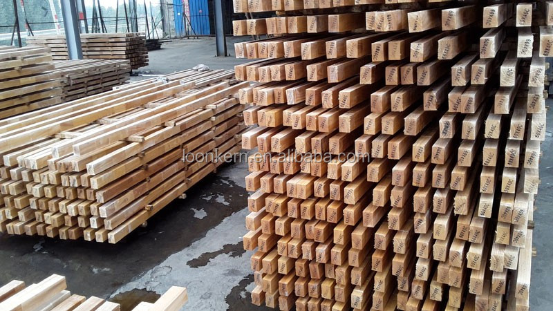 furniture wood veneer / finger joint rubber wood veneer for Malaysia