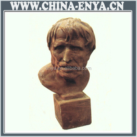 Factory Direct Sales All Kinds Of bronze grass land put bust sculpture