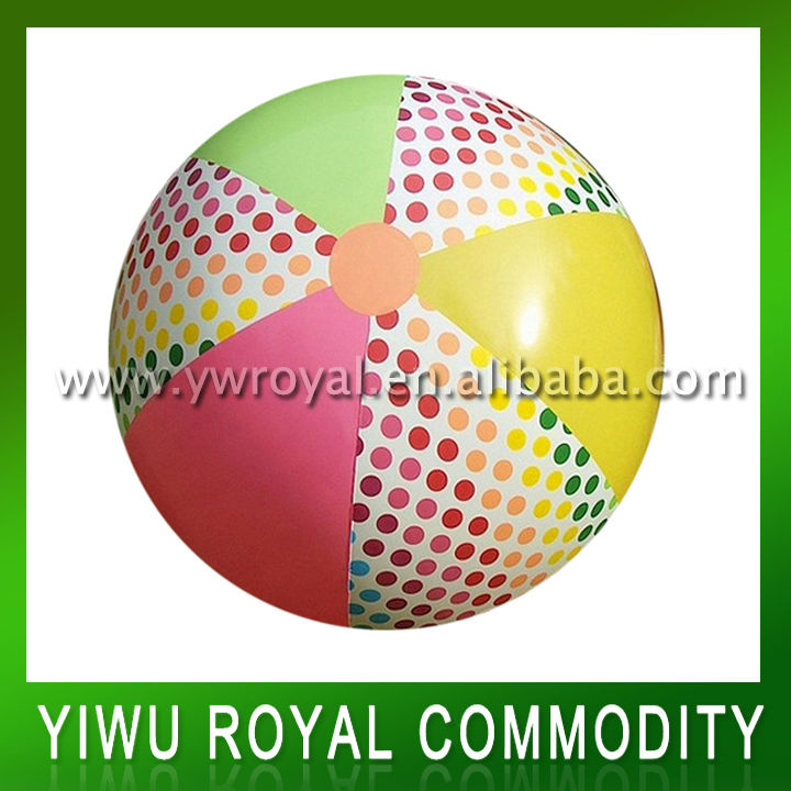 Coloful 48 Inches PVC Inflatable Giant Beach Ball