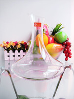Restaurant/hotel glassware high-end hand blown round bottom glass wine decanter 1650ml(FDA,EU passed glass factory)