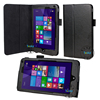 Book Flip PU Leather Case Cover For HP Stream 7 Leather Case , Scratch-resistant Tablet Leather Skin [Pen Slots + Stand Holder]