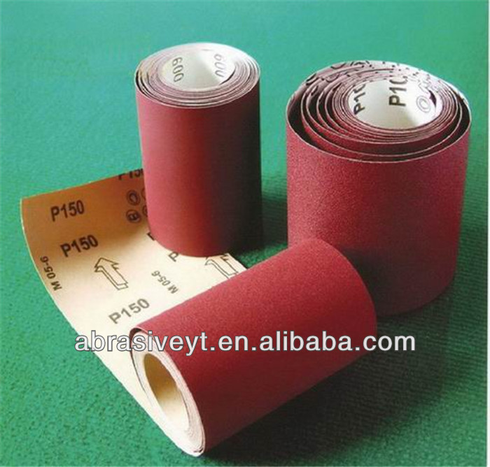 aluminum oxide endless sand paper roll
