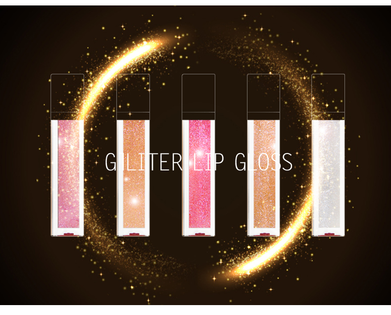 OEM Glitter Lipgloss Private Label Moisturizing Lip Gloss