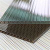 pc four wall polycarbonate roof sheet / twin wall polypropylene sheet