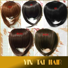 2015 New Arrival, Cheap Price with High Quality Hair Bangs, 100% Virgin Remy Indian Human Hair Bangs Extension
