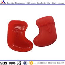 Factory Hot Selling Food Grade Silicone material Baking Cake Mold shoe shape chocolate mould