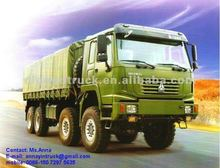 HOWO All-wheel 8x8 Military Truck