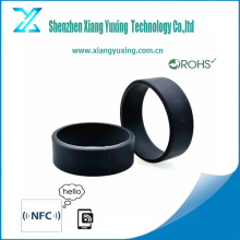 Silicon wristband custom logo printed nfc bracelet with laser engraved sequence number