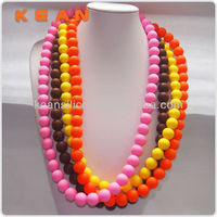 Different Kinds Of Jewelry Accessories Big Flat Siliocne Necklace