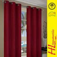 6 years no complaint flame retardant modern style leaf pattern window curtain