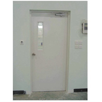 Fireproof steel door 3
