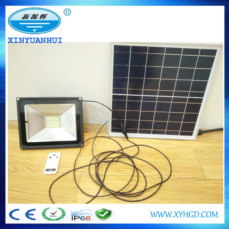 Remote Control Waterproof Solar LED Flood light