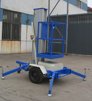Working Table Aluminum hydraulic lift for painting