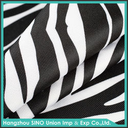 Free samples pattern customized 600D PVC backing waterproof oxford polyester fabric textiles furniture
