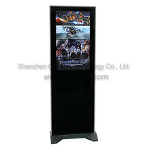 26 inch Floor Standing Network LCD advertising player,flat screen(1366x768 )