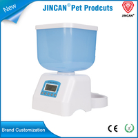 Shenzhen Factory 2016 Patent Product With Large LCD Display Auto Pet Feeder