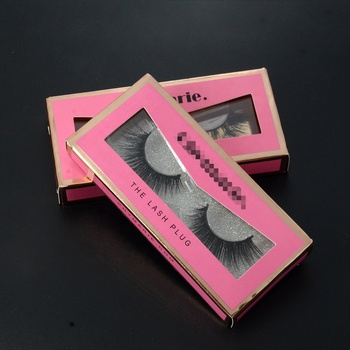 HZJY  Wholesale Custom Lashes Packaging Box