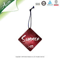 Cheap Promotion Gift New Car Air Fresheners with Own Logo