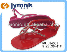 2013 Fashion Diamond Jelly Sandal Lady