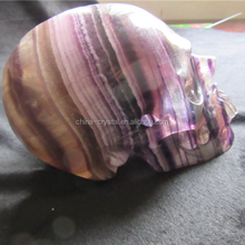 Beautiful fluorite dragon Skull from alibaba china
