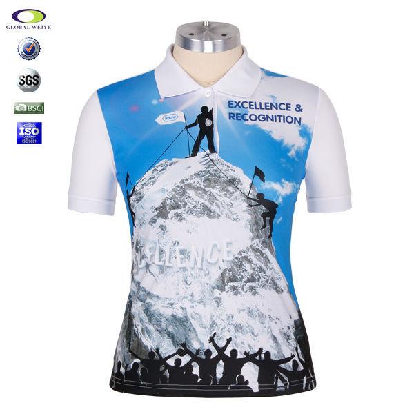 Cheap Custom Logo Dye Sublimation Polo Shirt Buy Dye