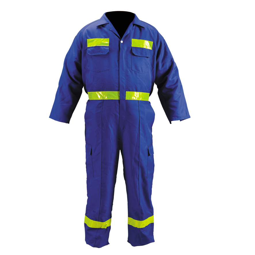 Hi-vis reflective safety work wear