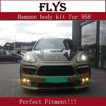 Very Nice facelift! Hamn body kit for porsch cayenn 958 2011-2014 year. Fiber glass material! Perfect fitment!!!