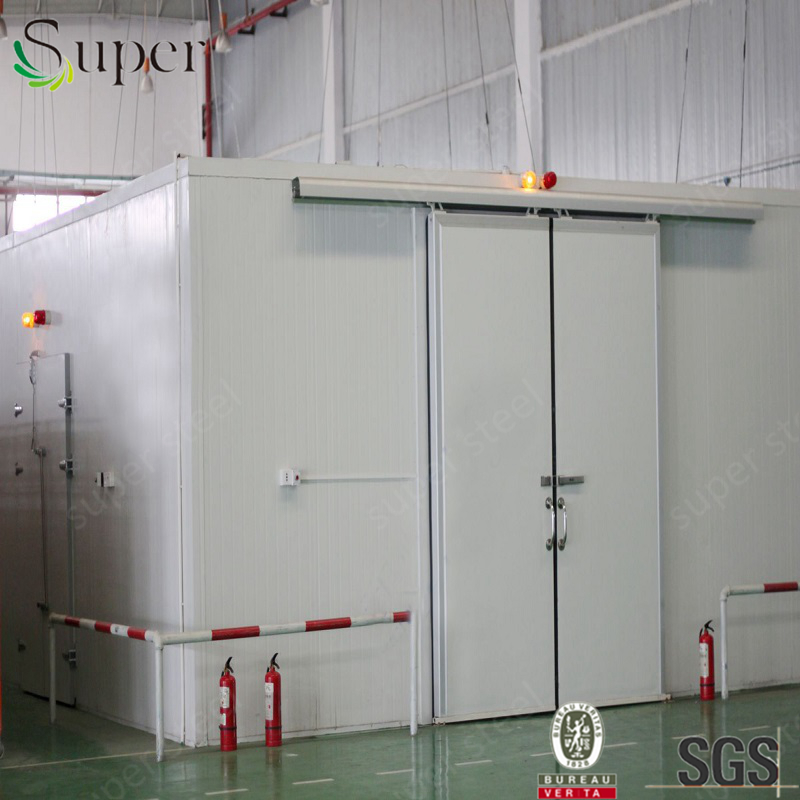 Cold storage room walk in cold room price for frozen fish, frozen chicken, seafood, meat blast freezer