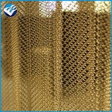 hanging chain fly deco screen curtain mesh